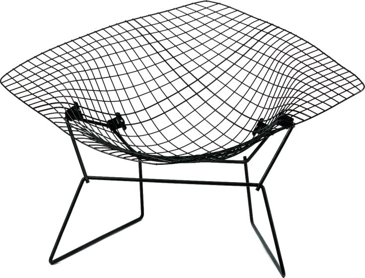 Diamond Chair (1952) Arieto (Harry) Bertoia