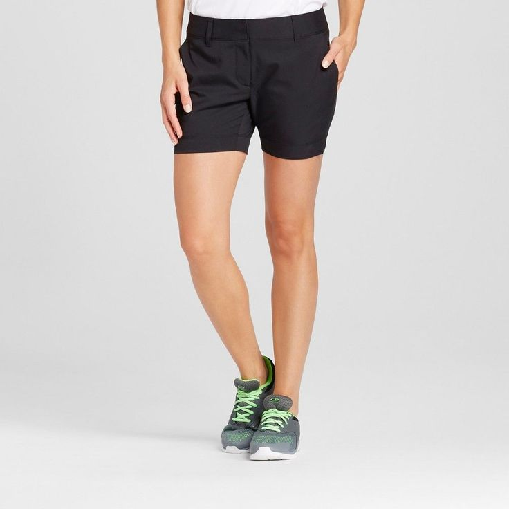 Women's Golf 5 Short Black 16 - C9 Champion