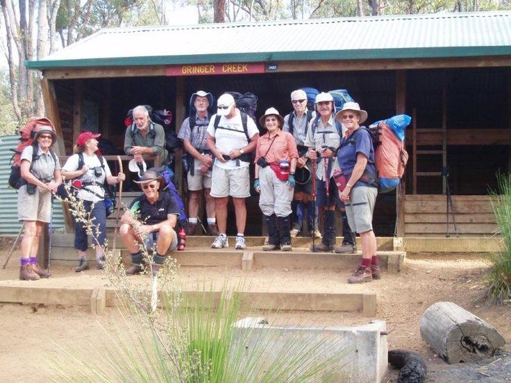 Group at Gringer Creek