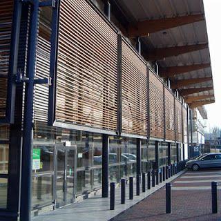 Apuntes de Arquitectura: Métodos de ahorro energético: brisé soleil y láminas solares.