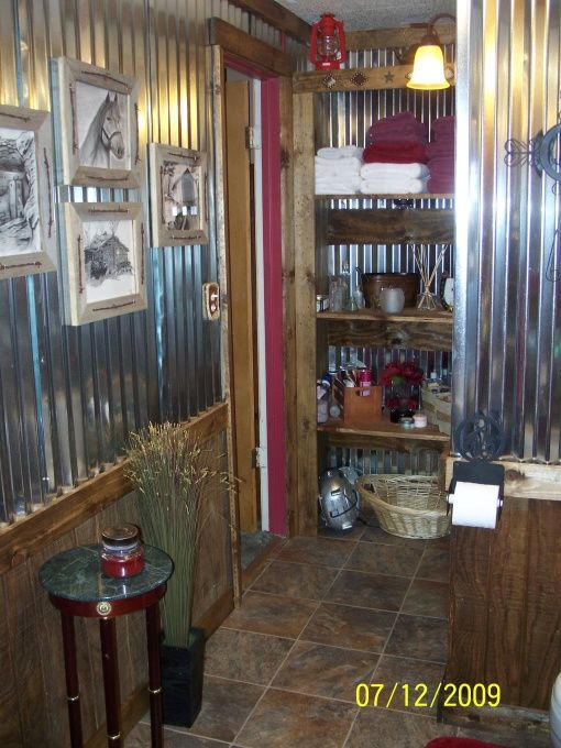 Western Bedroom Ideas | Old Western Saloon Style Bathroom, Ol' time bathroom with clawfoot tub ...