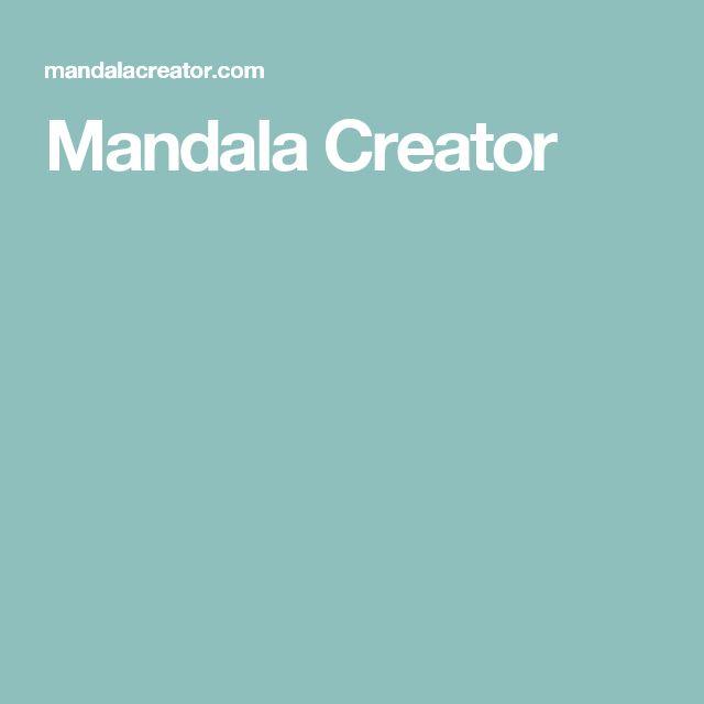 Mandala Creator