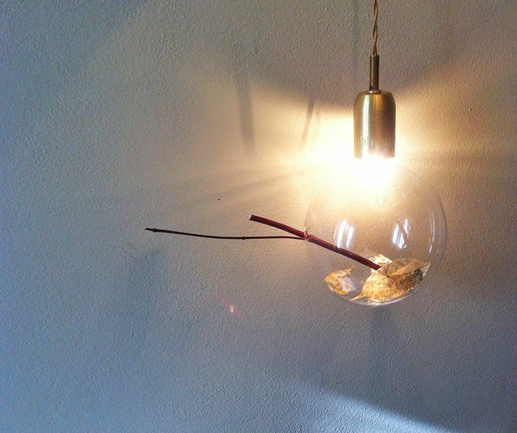 www.abhajour.com lampada in ottone con foglie d'oro certificata CE
