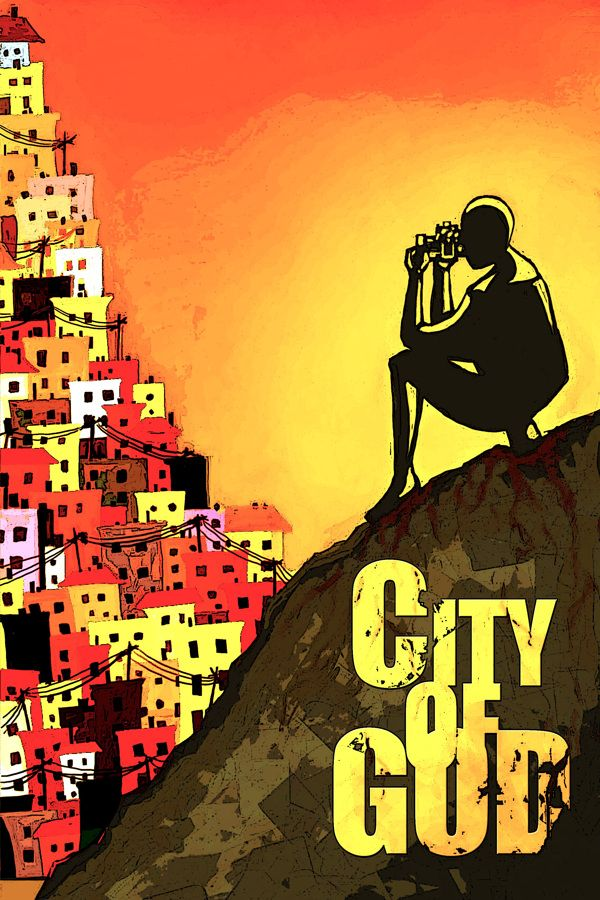 Movie Poster Movement — City of God by Will Dietrich