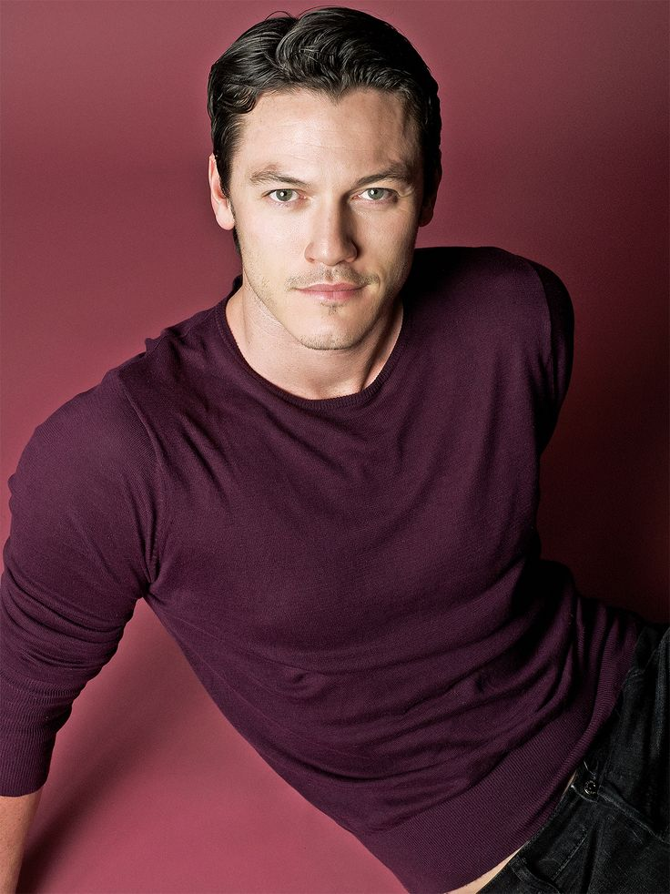 A young Luke Evans photographed by Dimitris Theocharis ...