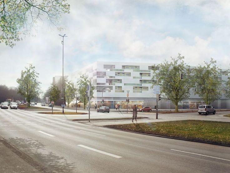Landschaftsarchitektur München 9 best lärmschutzbebauung images on gate portal and rings