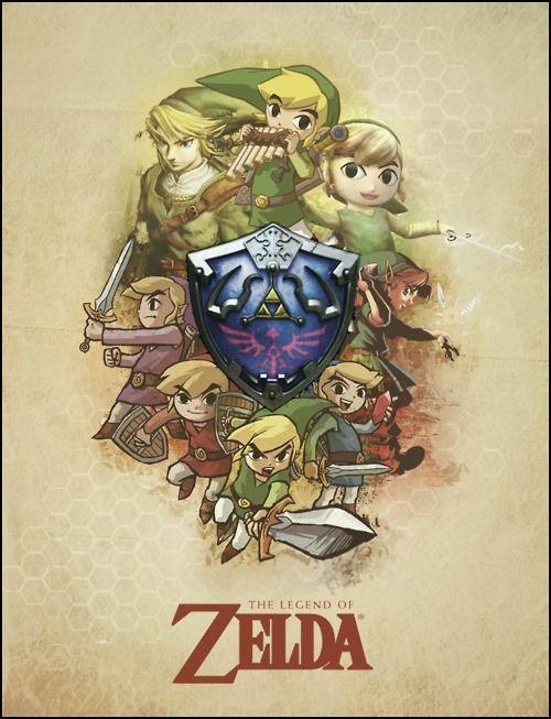 The Legend of Zelda - Those good ol' days...