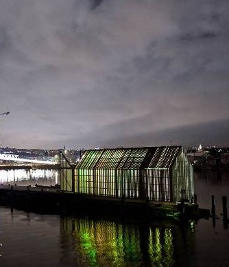 Kebony unveils new Oslo harbour house boat