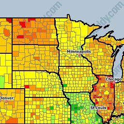Die Besten National Gas Prices Ideen Auf Pinterest - Gas prices accross the us map