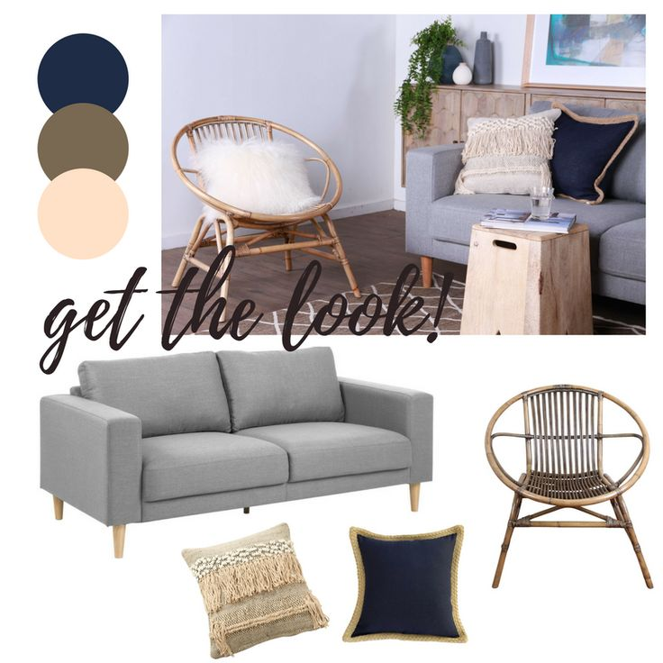 Furniture and homewares that give you a modern and clean look at home. This inspo has #light #neutral colours that give your space a fresh and neat vibe.  #Vast #TheMomentMakers #OnlineFurniture #Lounge #Chair