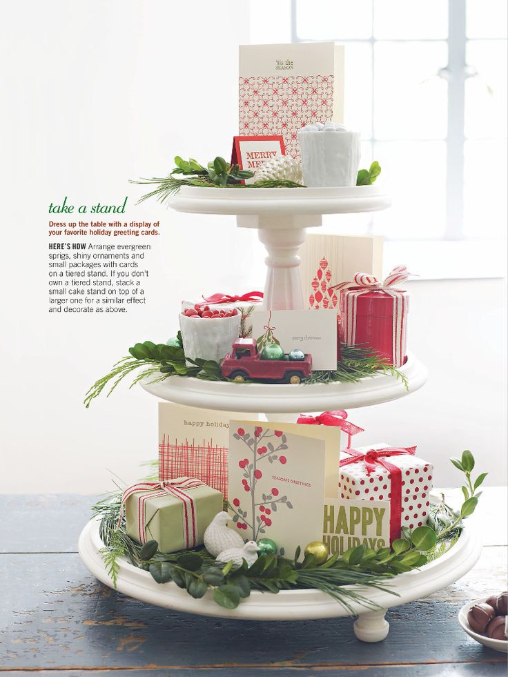 Use the 2 tier - could do small clocks, and wrapped small boxes holding party favors for guests to take for New Years party