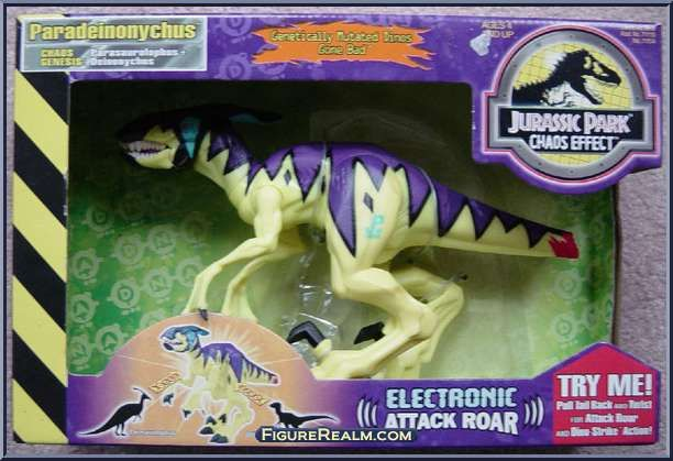 kenner jurassic park chaos effect electronic