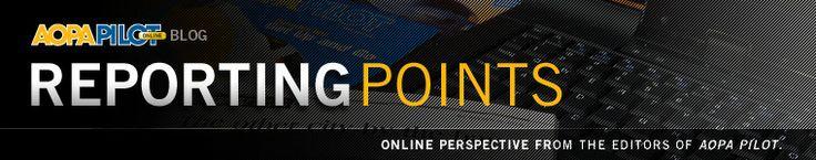 AOPA Pilot Blog: Reporting Points » Blog Archive » Strange but true general aviation news
