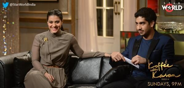 Kajol & Ayan Mukerji on Koffee with Karan | PINKVILLA