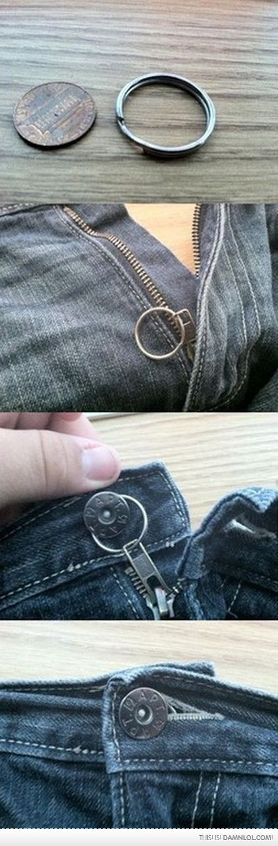 Zipper Keep Falling Down? Here's how to fix it!
