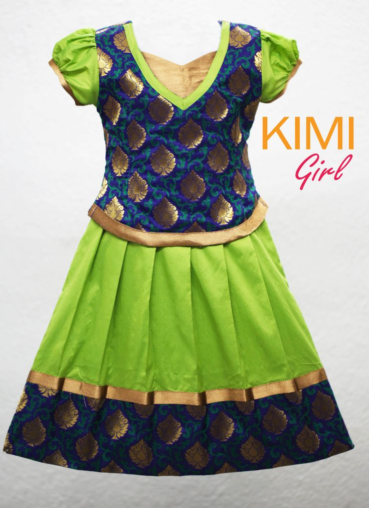#kids #choli #pattu #pavadai #girls #silk #traditional #designer #creative #indian #lehenga #kidswear #skirt #trendy #children #clothes #new #stylish #kimi #dresses #partywear #apparel #fashion #readymade #girl #dress