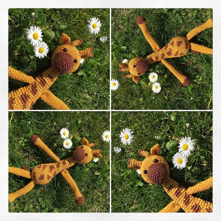 #crochet #amigurumi #animal #giraffa #spring #daisys #uncinetto #peluches #griaffe