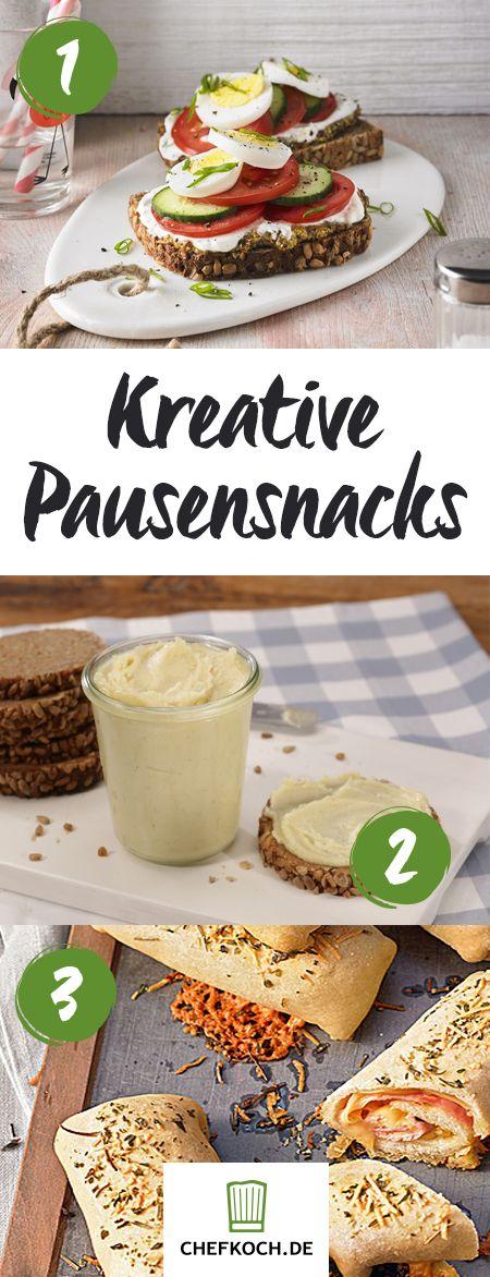 Kreative und leckere Snacks für die Pause