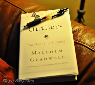 Outliers, Malcolm Gladwell. I love the  conversations this books sparks among my friends, yet I have not read the actual book yet!  I can't wait to begin reading this book tackling the harsh reality that it  not the brightest who succeed and what other factors determine our success even more than the sum total of our decisions and effort.