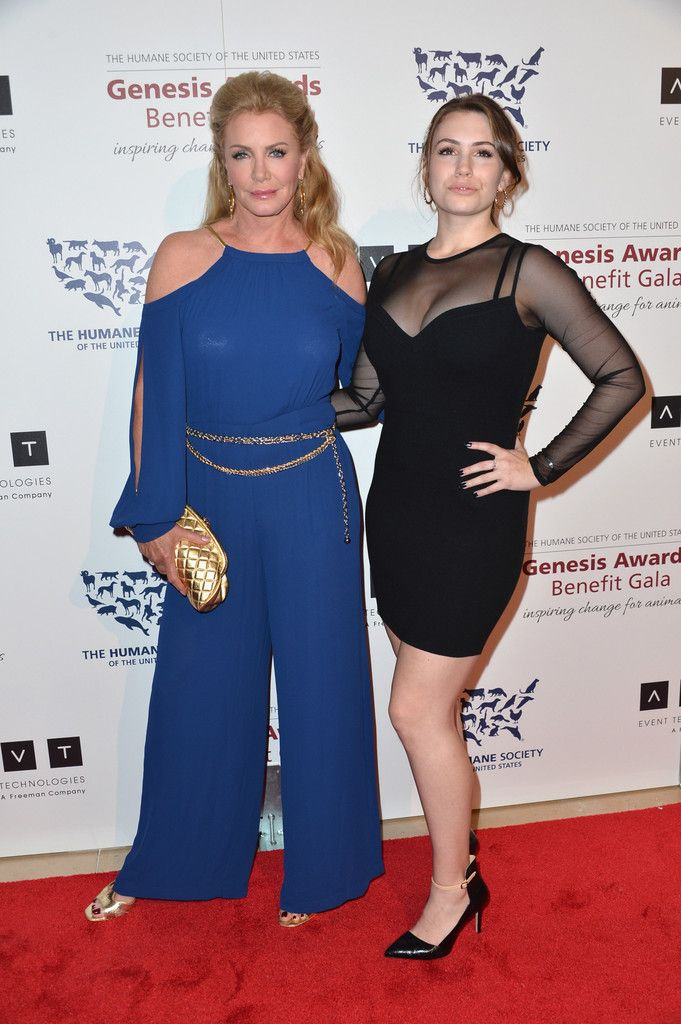 Shannon Tweed Simmons with her daughter Sophie Tweed-Simmons