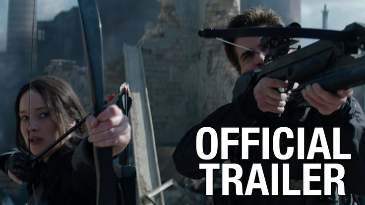 The Hunger Games: Mockingjay - Part 1 (First Official Trailer) #thehungergames #themockingjaylives
