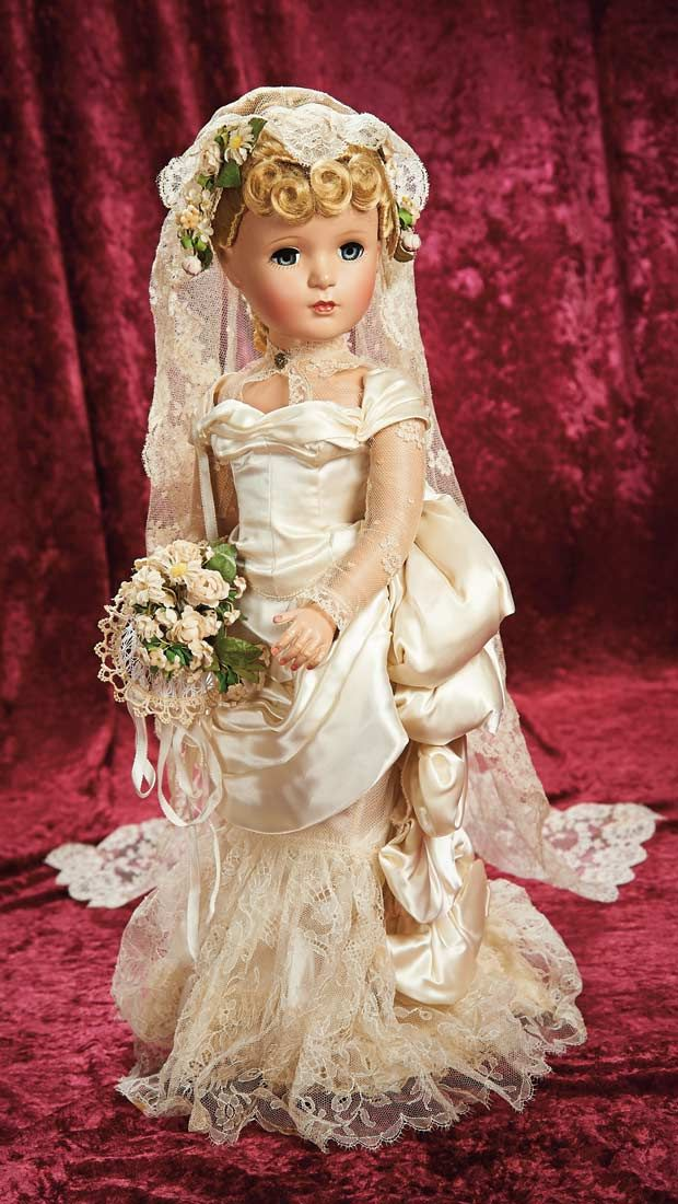 """Exquisite and All-Original American Portrait """"Victorian Bride"""" by Alexander http://Theriaults.com/"""