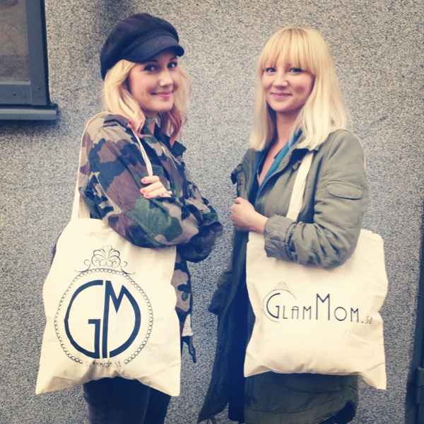 Vanja and Malin of Glammom.se