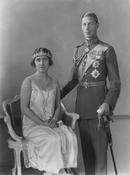 King George VI and Queen Elizabeth The Queen Mother (when Duke & Duchess of York)