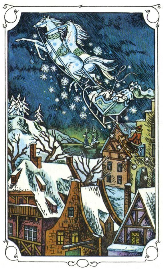 snow queen, svetlana mironov