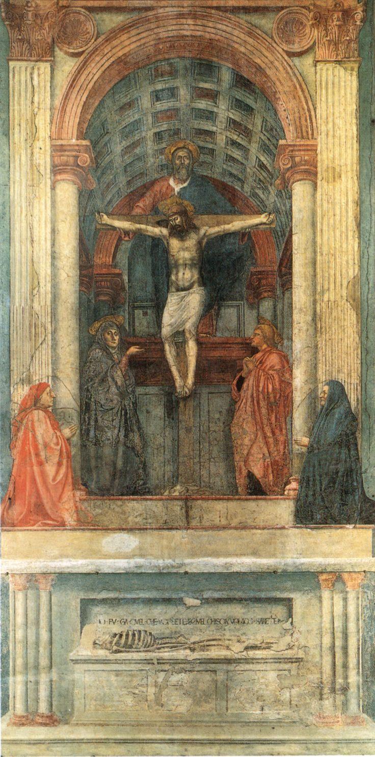 Картинки по запросу мазаччо троица