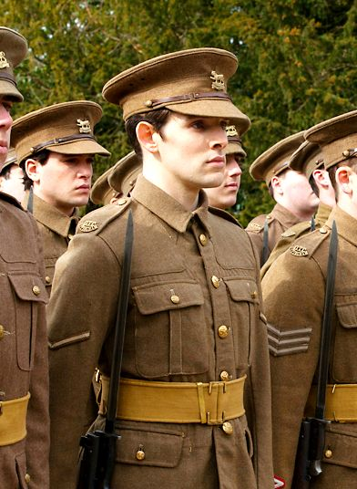 Victor Richardson - Colin Morgan in Testament of Youth, set during World War I (2014).