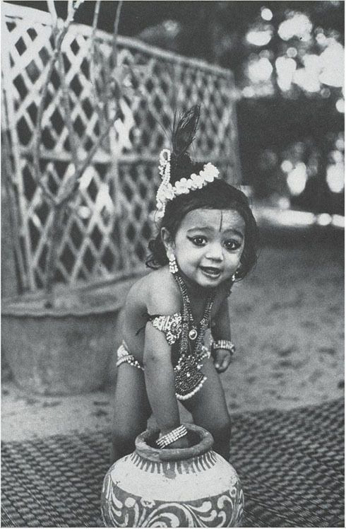 Krishna the butter thief
