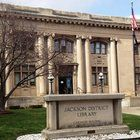Jackson District Library is seen more favorably by county residents than local parks, health services, cable television, land-use policies, power utilities, garbage collection, and drinking water.