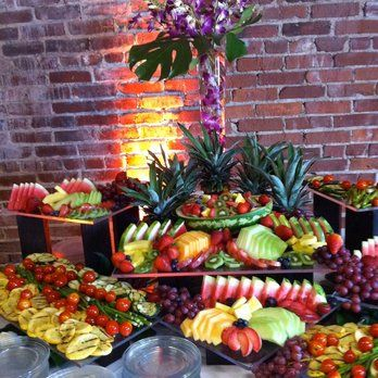 Fruit and Cheese Display | Yelp