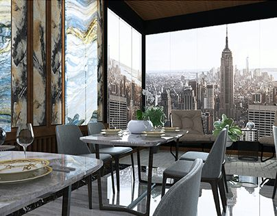 """Check out new work on my @Behance portfolio: """"FINE DINING RESTAURANT , WITH CITY VIEW"""" http://be.net/gallery/54069865/FINE-DINING-RESTAURANT-WITH-CITY-VIEW"""