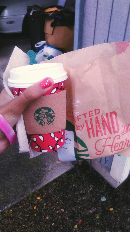 Git chirstmas starbucks i love pumpkin spice latte is so amazing :-)