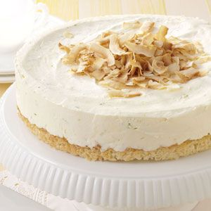 Lime Coconut Cheesecake Recipe - To make low carb use your favorite sugar free sweetener equivalent to sweetness of 3/4 cup of sugar.