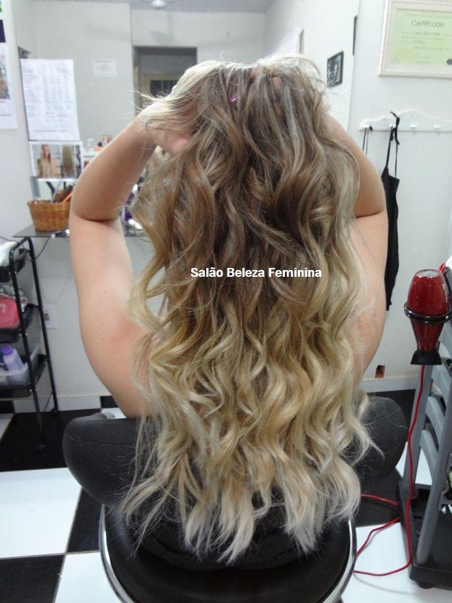 Salão Beleza Feminina: Como Fazer Mechas Ombré Hair