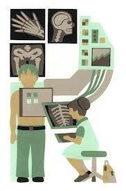 R is for Radiology .........