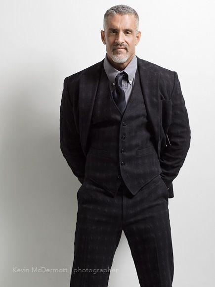 Older men cocks in suits