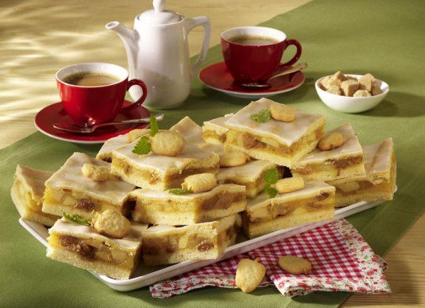 Unser beliebtes Rezept für Gedeckter Apfelkuchen vom Blech und mehr als 55.000 weitere kostenlose Rezepte auf LECKER.de.
