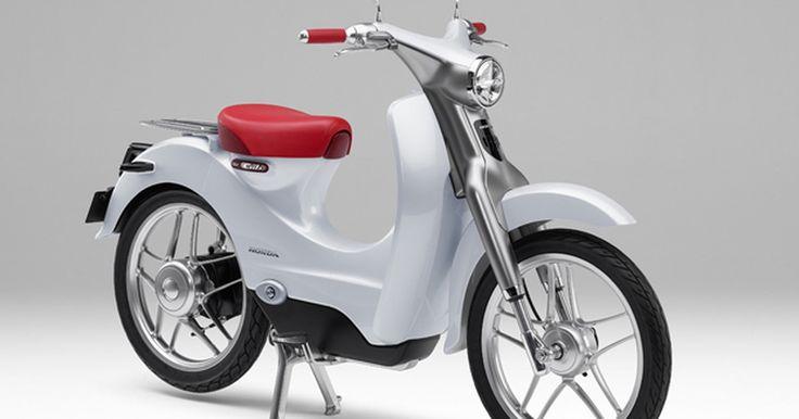 Honda planeja vender moto elétrica EV-CUB
