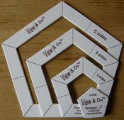 19 best Kaye Wood's Quilting Toys images on Pinterest | Knitting ... : quilting templates plastic - Adamdwight.com