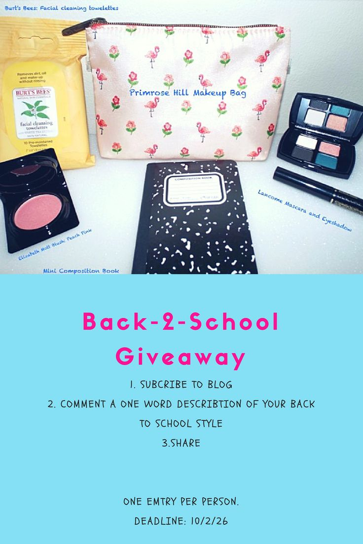 #giveaway back to school