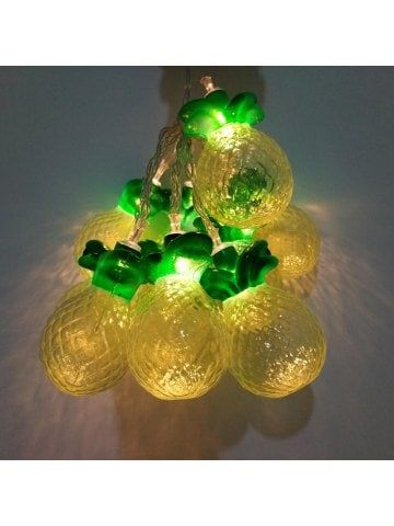 Pineapple String Lights Fairy LED Home Decor Light Home Garden Of Battery  Powered 1.65M 10 LED | LED Lights | Pinterest | Night Lamps