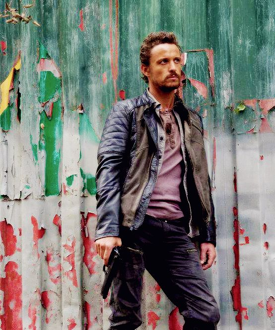 David Lyons: As Sebastian Monroe on Revolution. My ultimate fantasy; too hot and tough to handle ❤️