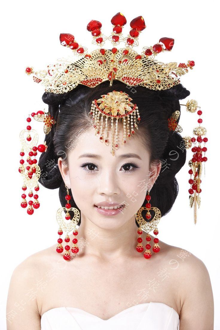 Ancient the Coronet costume bride ★ hanfu hair accessories ★ Chinese wedding headdress hair accessories to suit costume Coronet