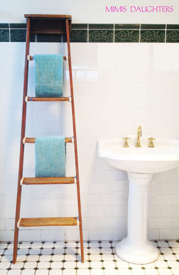 Up-cycled ladder SOLD