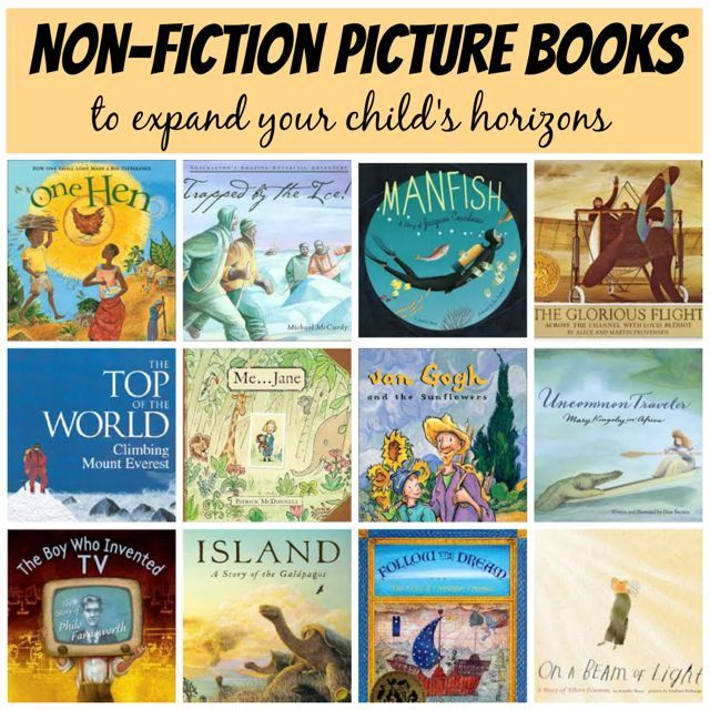 Examples Of Non Fiction Books For Kids