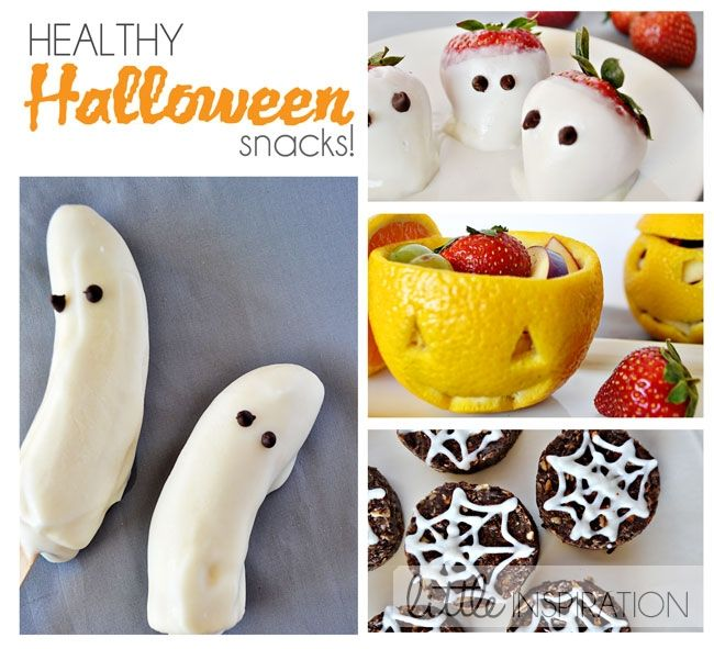 Healthy Halloween Snacks: you drop a healthy snack in a kid's bag and you're asking for your house to get egged.